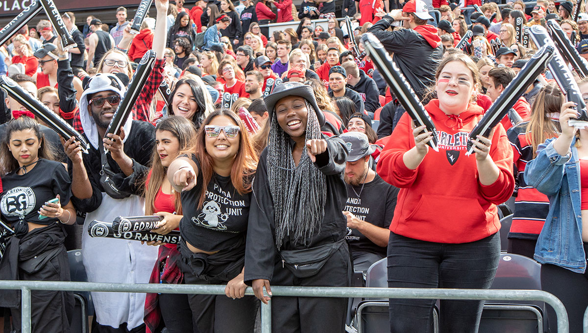 Panda Pride: Carleton Works with Community to Ensure Annual Rivalry is Safe and Fun