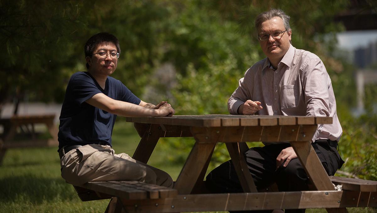 Prof. Yue Zhang and Prof. Razvan Gornea