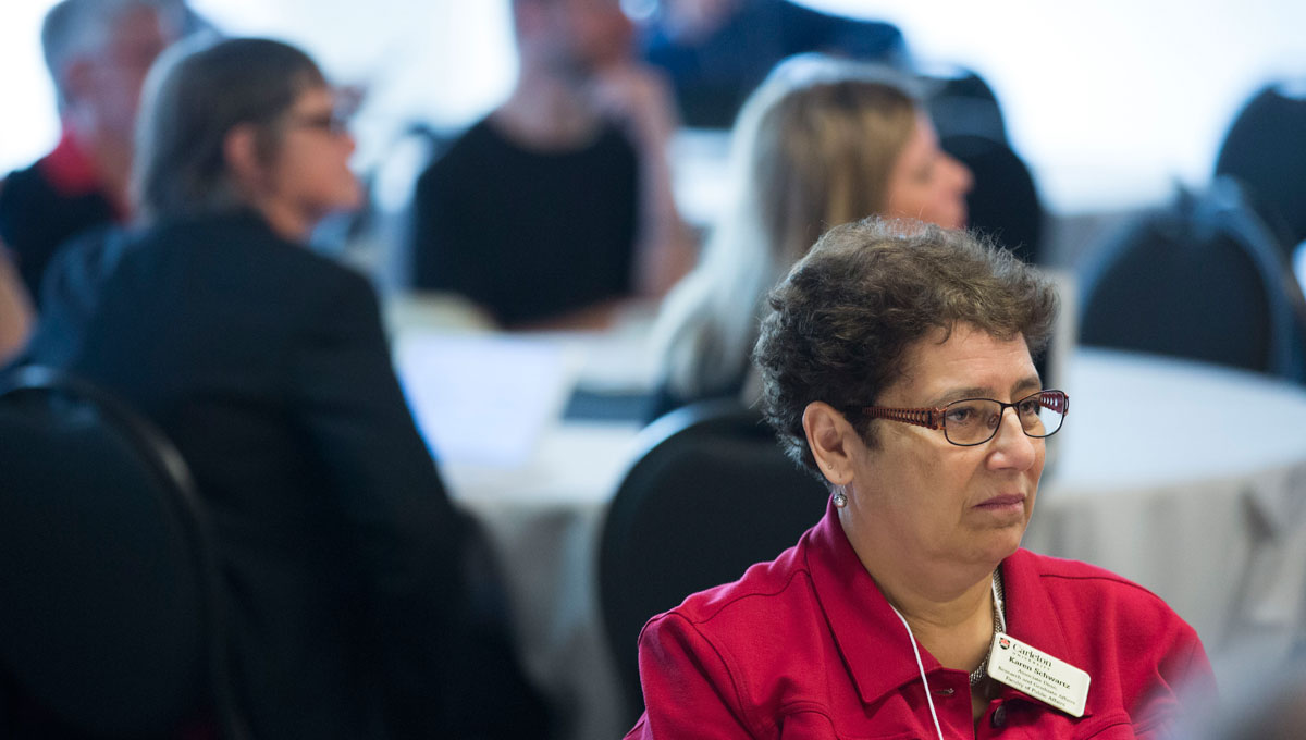 Karen Schwartz, Carleton University's Associate Dean of Research and Graduate Affairs