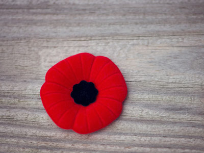 Photo for the news post: Remembrance Day Service on Monday, Nov. 12, 2018