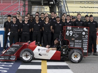 Photo for the news post: Ravens Racing Team Takes Seventh Place at Formula SAE Michigan
