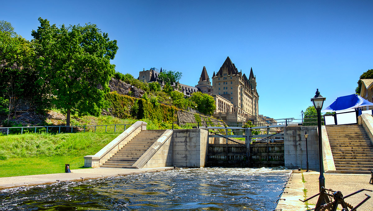 The Rideau Waterway (also known as The Rideau Canal)