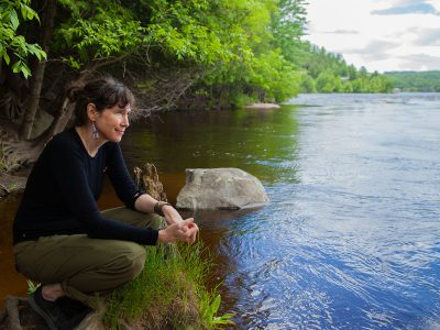 Photo for the news post: Watching over Water: Carleton Alum Serves as Ottawa Riverkeeper