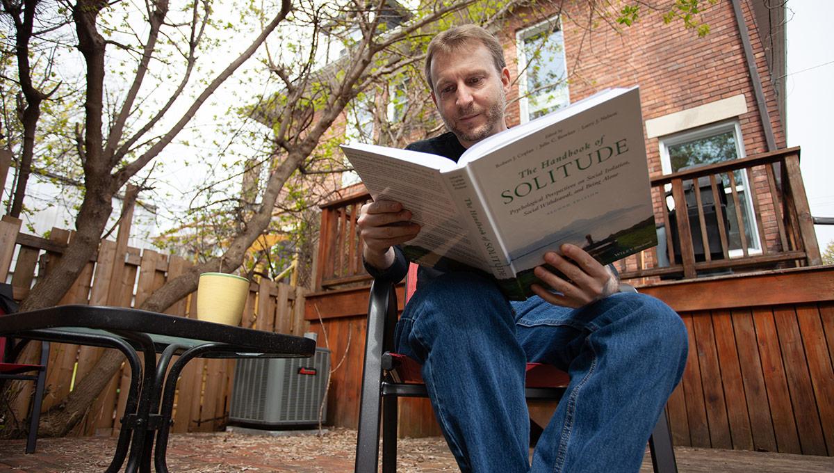 Prof. Robert Coplan reads his new book The Handbook of Solitude