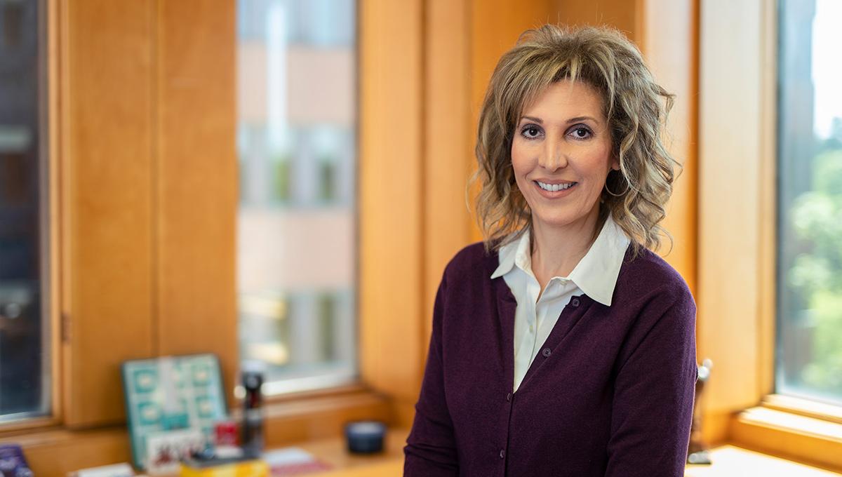 Photo of Carleton University researcher Joanna Pozzulo.