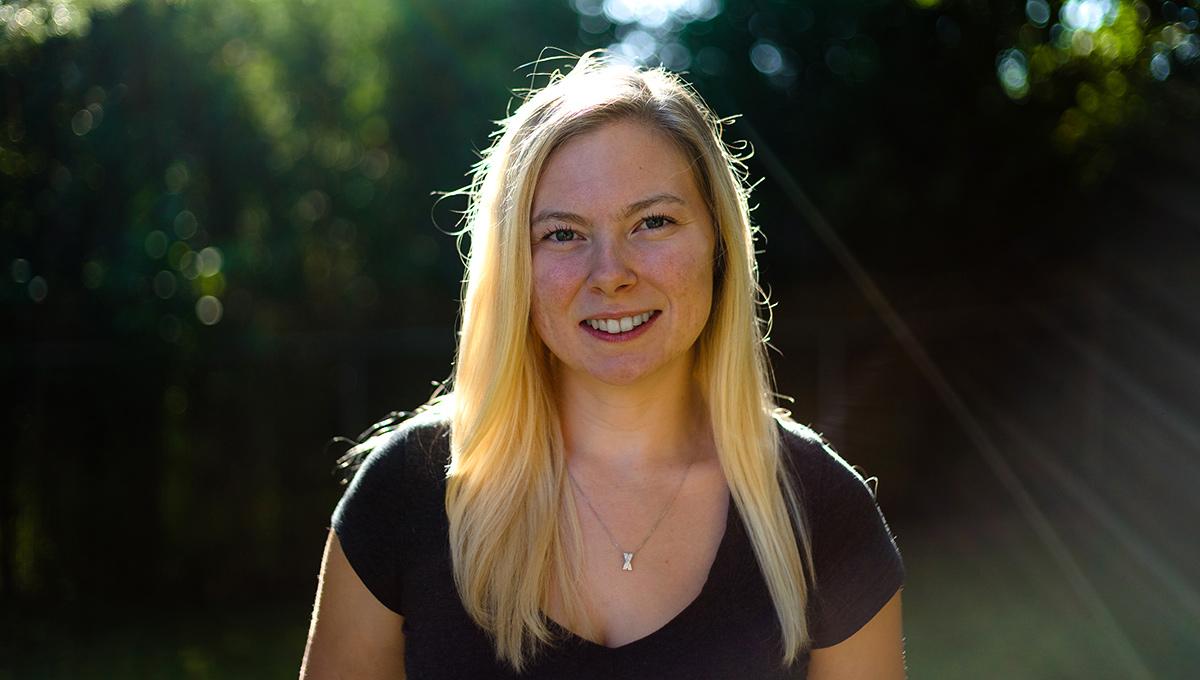 Photo of Carleton University researcher Tori Semple.