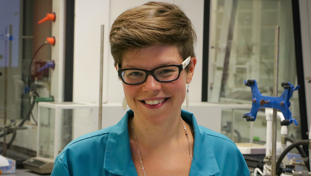 Photo of Carleton University lab coordinator Natalie Mesnic