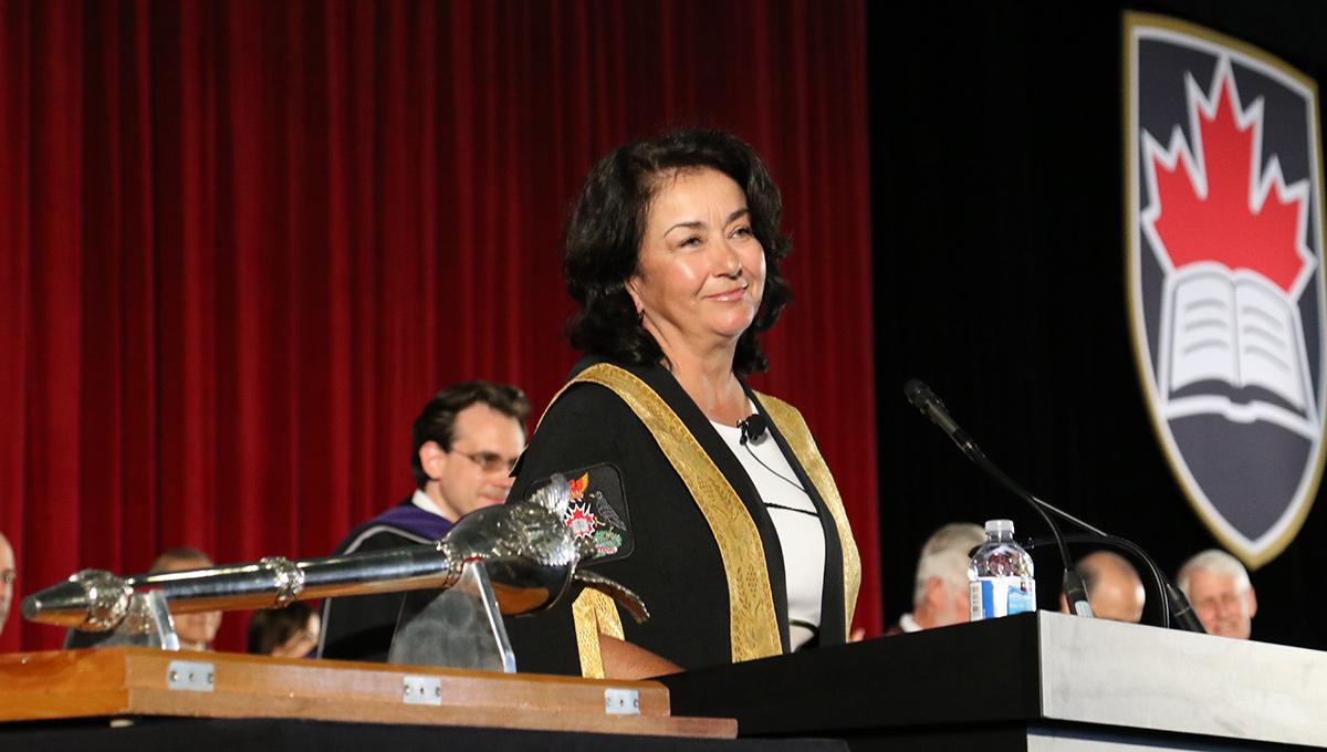 Chancellor Yaprak Baltacioğlu