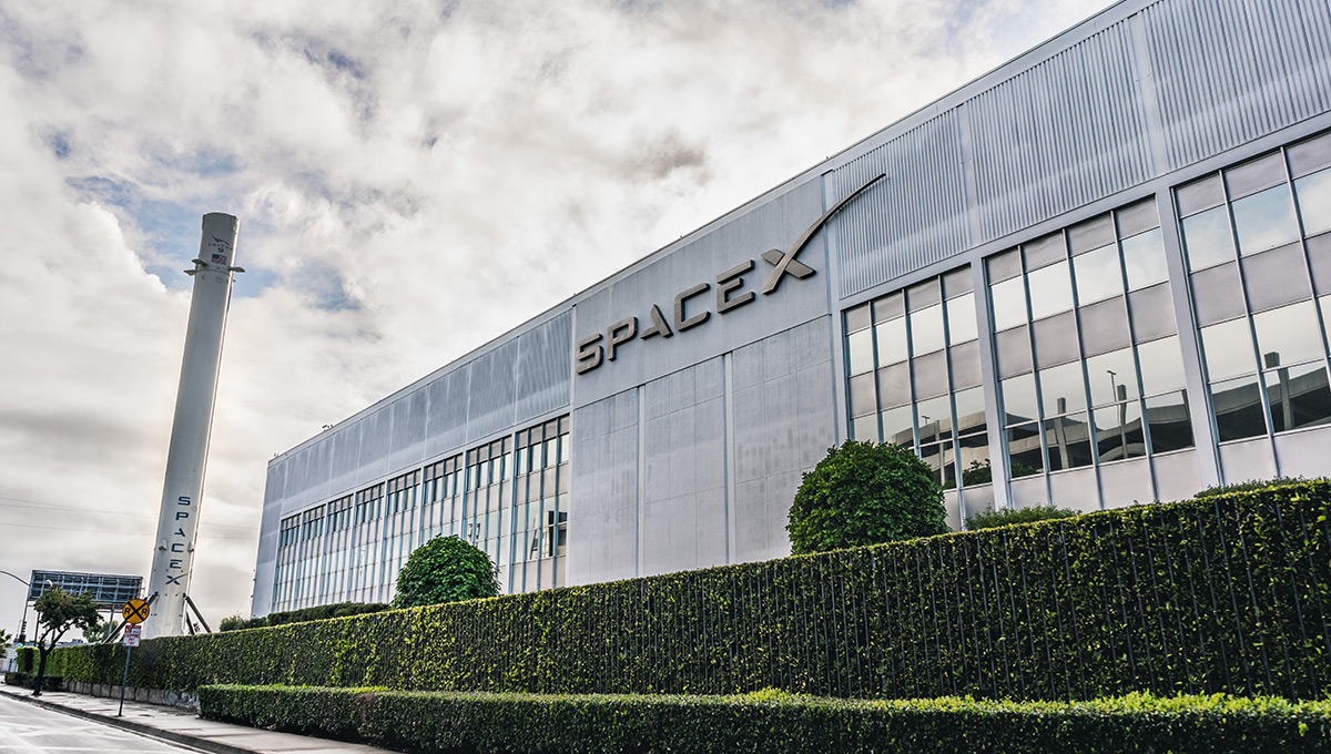 SpaceX (Space Exploration Technologies Corp.) headquarters