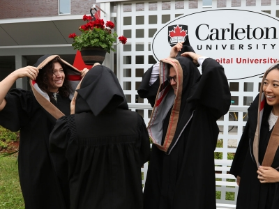 Photo for the news post: Day Three: Carleton Spring Convocation 2018