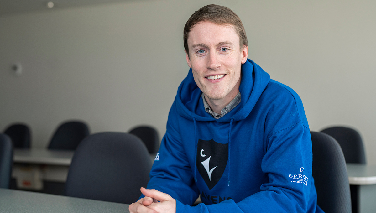 Photo of Sprott MBA student Mike Nimmo.