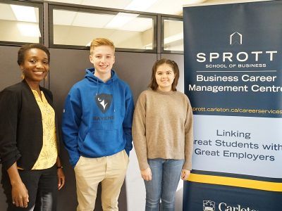 Photo for the news post: Sprott's Employability Passport to the Future