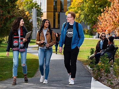 Photo for the news post: Carleton Research on Students Actively Commuting Published in Springer Nature Journal