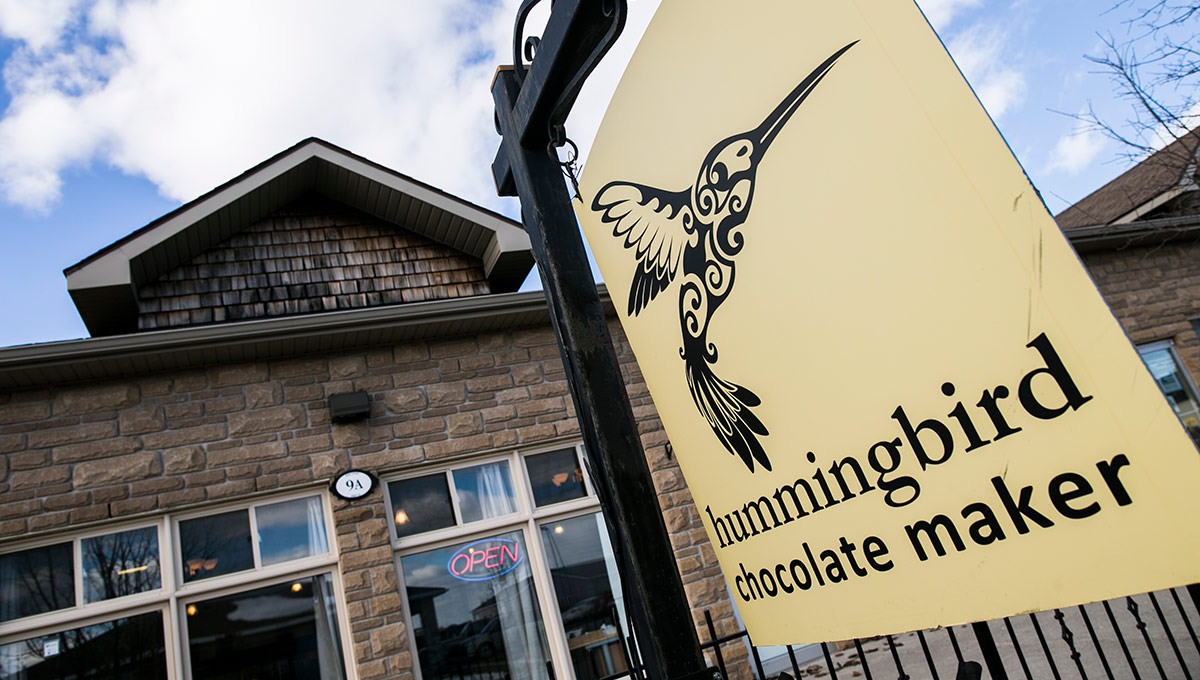 Success is Sweet for Hummingbird Chocolate Maker
