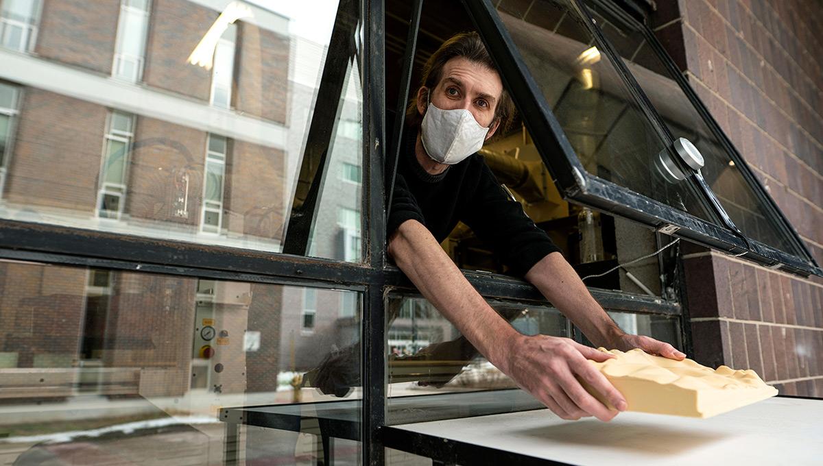 Digital Craft Technician Steve MacLeod