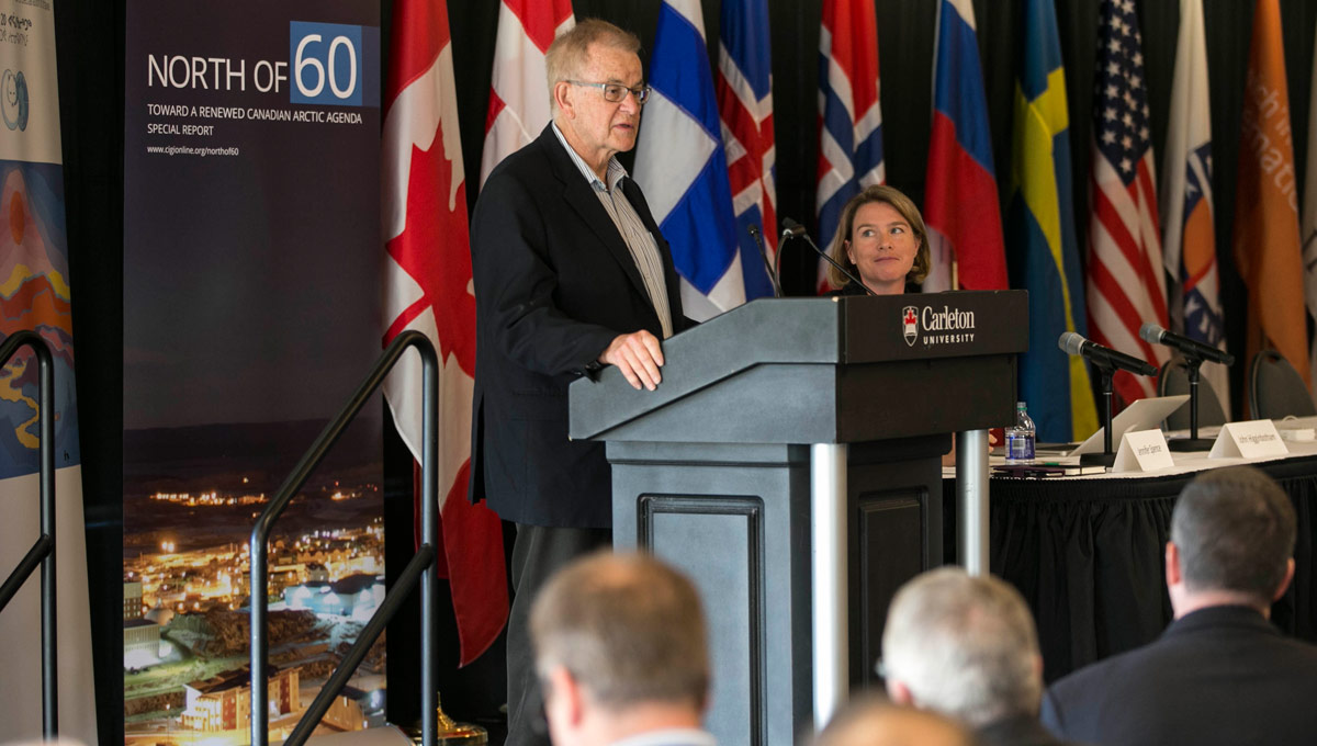 Arctic Council conference: John Higginbotham, a senior distinguished fellow at Carleton's Norman Paterson School of International Affairs and head of the Arctic program at CIGI.