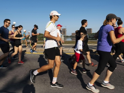 Photo for the news post: Carleton Raises $185,000 in Terry Fox Run