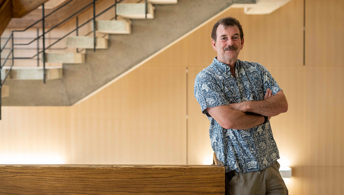 Photo of Geology Prof. Tim Patterson