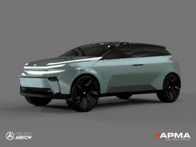 Photo for the news post: Project Arrow: Carleton Students Win APMA National Zero-Emission Auto Design Competition