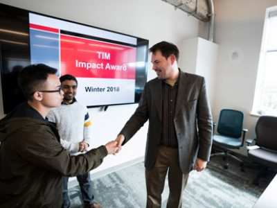 Photo for the news post: Carleton's TIM Program Recognizes Top Projects