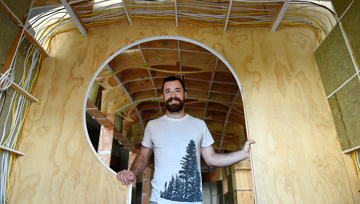 A Tiny House That Withstands the Elements: Student Builds with Style