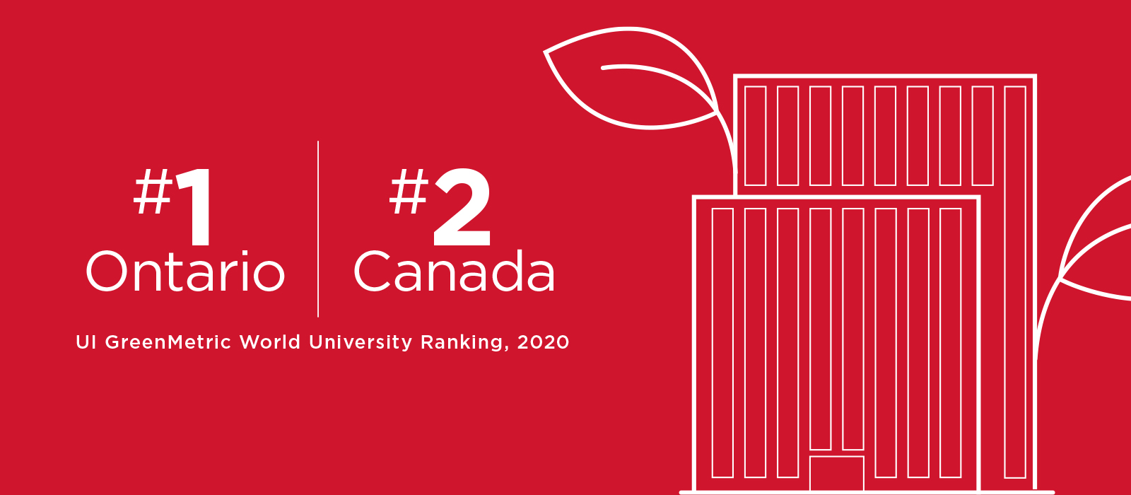 Carleton First in Ontario and Second in Canada for Sustainability Efforts