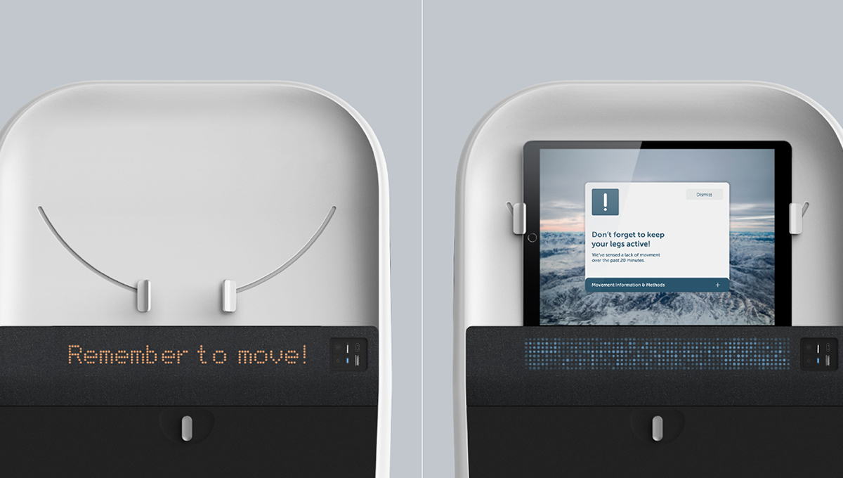 Unique Design Elevating Air Travel Inclusivity for Seniors