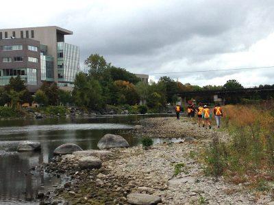 Photo for the news post: Carleton Prof. Creates Virtual Sedimentary Geology Field Trips