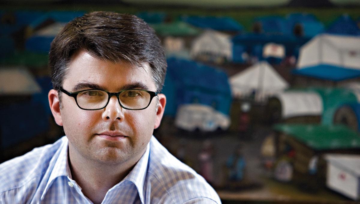 Carleton University political science professor, James Milner