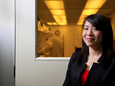 Photo for the news post: Carleton's Winnie Ye Receives Partners in Research Technology and Engineering Ambassador Award